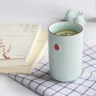 TaoXiChuan jingdezhen mugs simple pure color art new ceramic cups of coffee cup straight office cup