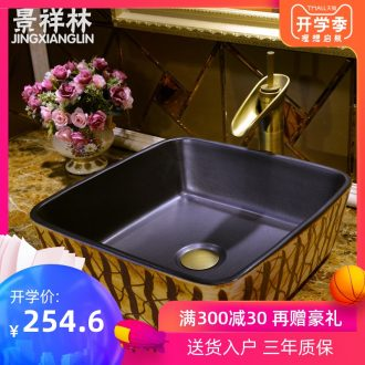 JingXiangLin European contracted jingdezhen traditional manual basin on the lavatory basin & ndash; & ndash; fence