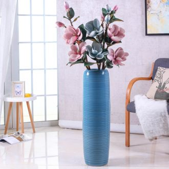Porch ground vase jingdezhen ceramic sitting room Nordic simulation flower suit contemporary and contracted large furnishing articles arranging flowers