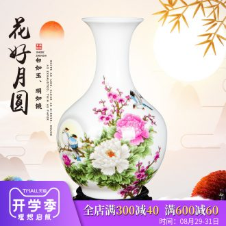 Jingdezhen ceramics floret bottle home furnishing articles flower arranging the sitting room TV ark wine adornment handicraft decoration
