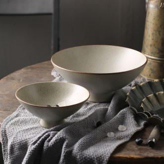 Japanese rainbow noodle bowl taste thousand la rainbow noodle bowl commercial large household ceramics creative hat to bowl a bowl of soup bowl noodles