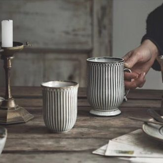 Ijarl million jia Nordic ceramic mugs, household milk drink a cup of coffee without the breakfast cup cup plug