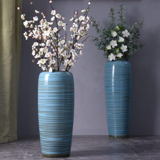 European vase landing large vases, flower arranging jingdezhen ceramic POTS home furnishing articles the sitting room porch decoration