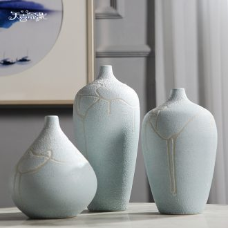 Jingdezhen ceramic wine table decorations furnishing articles household act the role ofing is tasted the sitting room porch vases, flower arranging dried flower decoration