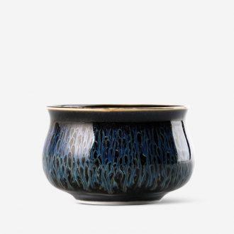 TaoXiChuan jingdezhen ceramic temmoku glaze kiln heart sky cup master cup single cup sample tea cup lamp cup