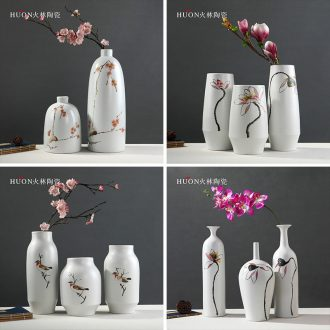Clearance of new Chinese TV ark hand-painted Chinese jingdezhen ceramic vase the sitting room porch home furnishing articles