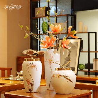 European postmodern contracted ceramic vase of dry flower arranging living room table home decoration wedding gift furnishing articles