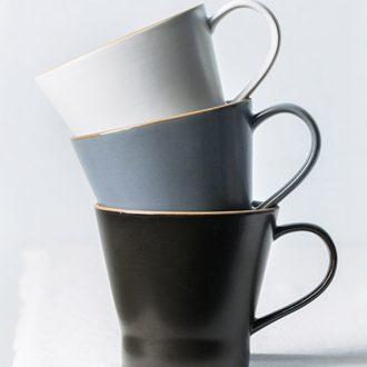 Ijarl million jia morandi northern wind ins breakfast oats cup web celebrity glass ceramic mug cup couples