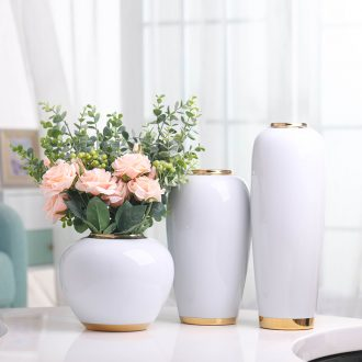 American ceramic vases, table light luxury furnishing articles wind the sitting room porch TV ark European modern household soft adornment