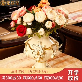 The Vatican Sally's European ceramic vases, flower arranging dried flowers sitting room adornment size TV ark home furnishing articles
