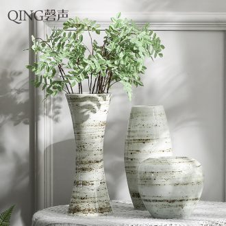 Vase furnishing articles dried flower arranging flowers sitting room dining-room art ceramics office decoration contemporary and contracted household porcelain