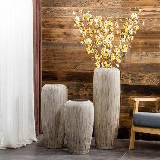 Gagarin ceramic vases, large living room dry flower arranging flowers floor European modern creative furnishing articles
