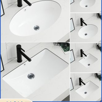 Square embedded ceramic undercounter oval sink single basin bathroom ark small basin that wash a toilet