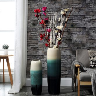 Northern American high money sitting room ceramic vase landing simulation flower arranging dried flower furnishing articles suit large web celebrity hotel