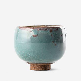 TaoXiChuan jingdezhen ceramic manual single color glaze kiln household cup master cup tea cups of tea ceremony