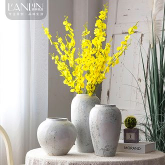 Ceramic floret bottle european-style manual can be flowers of contemporary and contracted mesa vase furnishing articles sitting room dining-room decorate arranging flowers
