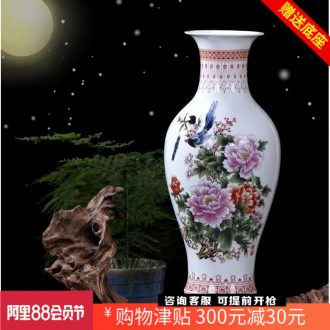 Jingdezhen ceramics khe sanh travelled to the ground size vase mesa place to live in a home sitting room adornment