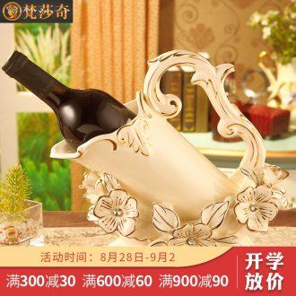 Vatican Sally's European ceramic wine rack creative luxurious sitting room ark home furnishing articles wedding gift