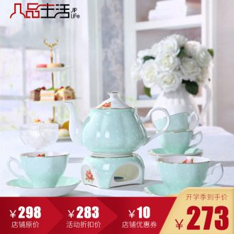 English afternoon tea and red tea sets coffee cup coffee home European top-grade ceramic sets of wedding gifts