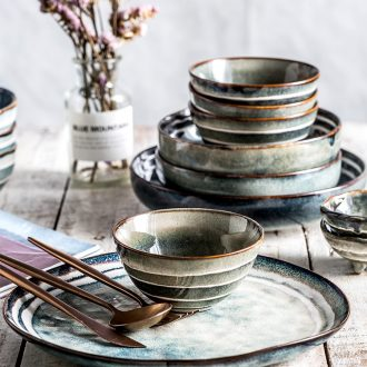 Million fine dishes suit household ins web celebrity eat four people contracted ceramic tableware portfolio Japanese creative job offer