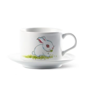 Creative TaoXiChuan jingdezhen continental breakfast coffee cup high-grade ceramics contracted suit small pure and fresh and hand-painted teacup