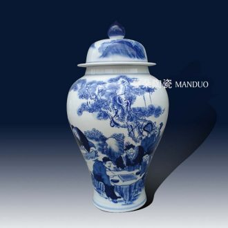 Jingdezhen porcelain general character of classical porcelain pot landscape classical personage general porcelain pot