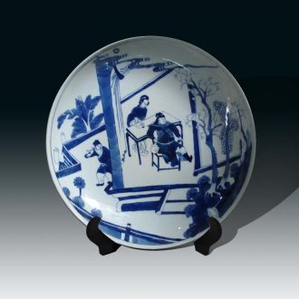 Jingdezhen general character in the qing dynasty blue and white general kangxi porcelain vases, decorative porcelain jingdezhen hand-painted