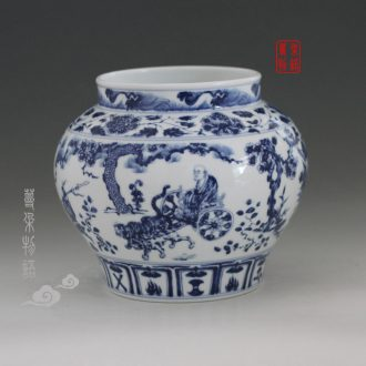 Jingdezhen guiguzi down the vase furnishing articles furnishing imitation antique vase classic guiguzi down the jar
