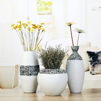 Jingdezhen contemporary and contracted ikea ceramic vase furnishing articles creative household table dry flower adornment sitting room