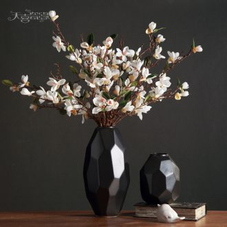 Contemporary and contracted Nordic ceramic vase furnishing articles of the sitting room TV table wine dried flowers, household soft adornment