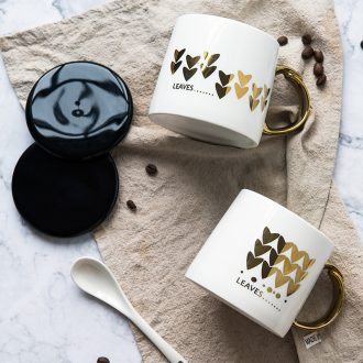 Ijarl million jia household contracted ceramic mug cup practical breakfast cup office coffee cup of water glass