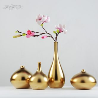 Creative Nordic household ceramic vase furnishing articles of the sitting room TV ark wine show fashion soft adornment ornament