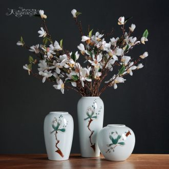 Contemporary and contracted small pure and fresh and creative household table, TV ark sitting room porch ceramic vase flower arranging, furnishing articles