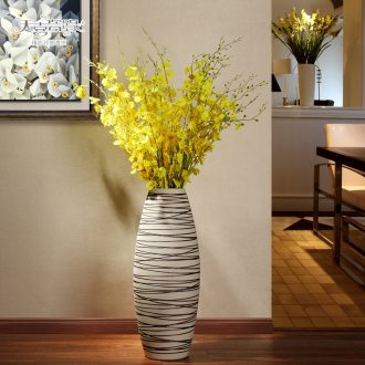 European ceramic vase of large modern fashion living room home decoration lucky bamboo hydroponic flower implement furnishing articles