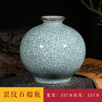 Jingdezhen ceramics vase furnishing articles flower arranging archaize sitting room kiln flower implement classical Chinese style household decorations