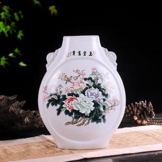 Jingdezhen European creative fashion vase ceramics wine flower adornment home sitting room handicraft furnishing articles