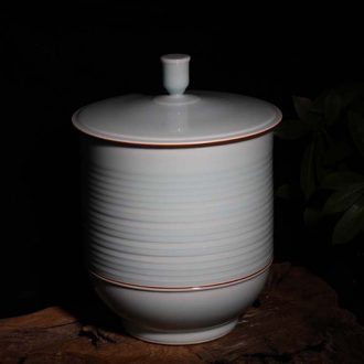 """Jingdezhen 30 jins celadon porcelain storage tank daily fashion celadon porcelain porcelain pot cup """"type green POTS"""