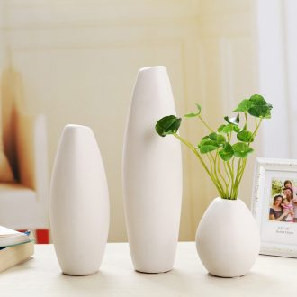 Creative home furnishing articles floret bottle of flower arranging white mesa of contemporary and contracted sitting room office ceramic vase