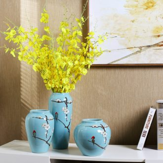 Creative furnishing articles household act the role ofing is tasted wine sitting room bedroom decoration wedding gift vase ceramic handicraft ornament