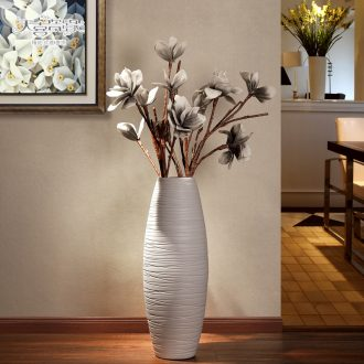 The sitting room is contemporary and contracted ceramic fashion TV ark of large vase lucky bamboo example room hotel decoration furnishing articles