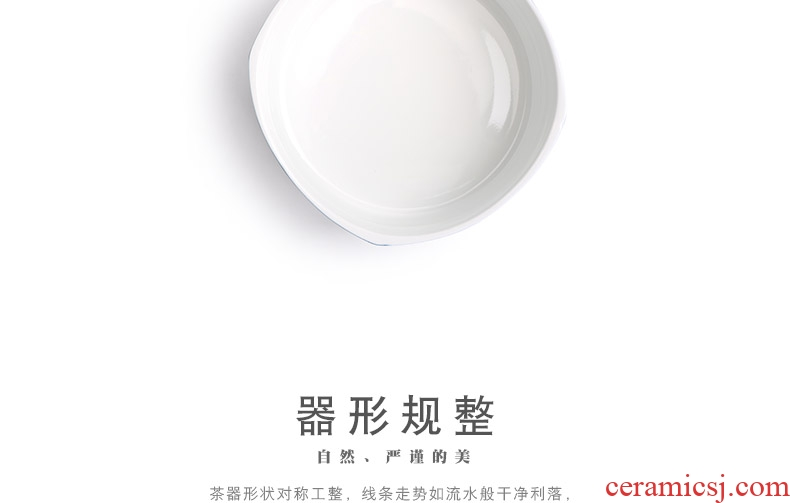 Mr | ji nan shan blue colour tea to wash large ceramic water jar creative dry tea accessories to build water bubble water to wash cup