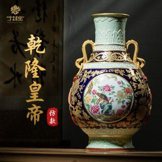 Better sealed kiln jingdezhen ceramics vase offerings blue paint Chinese antique hand-painted process rich ancient frame place adorn article
