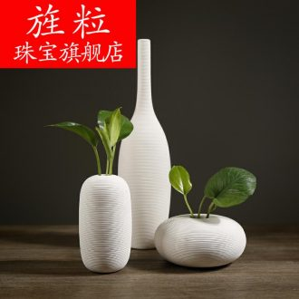 Q13 creative contemporary and contracted household ceramic flower vases furnishing articles table sitting room adornment dried flower decoration