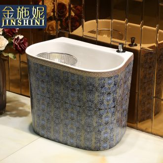 Wash the mop pool balcony toilet ceramic mop pool tow palmer pool to tow mop basin trough household mop pool