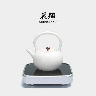 Chen xiang white jug kettle boiling kettle ceramic electric TaoLu teapot tea health household teapot