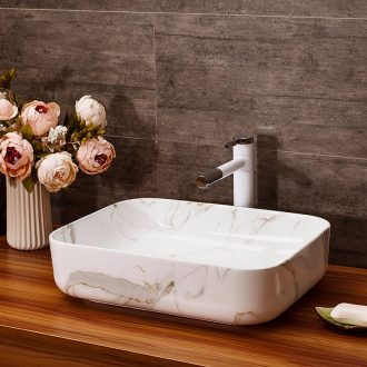 The stage basin art ceramic lavabo wash basin water drainage basin suit hotel multipurpose European stage basin