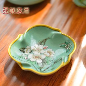 Murphy's new Chinese style classical handmade ceramic American country soap dish ashtray sitting room restaurant dried fruit plate