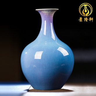 Contracted and contemporary jingdezhen chinaware big vase flower arrangement, household decoration hotel wine accessories furnishing articles