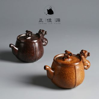 Are good source of filter teapot kung fu tea tea teapot Japanese ceramics coarse pottery home little teapot tea ceremony