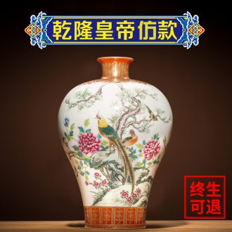 Better sealed kiln jingdezhen ceramics rich ancient frame antique vase restoring ancient ways furnishing articles manually mei bottles of home sitting room porch